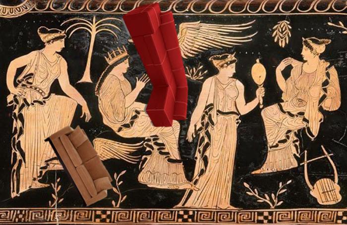 On Greek Goddesses and FlyingFurniture